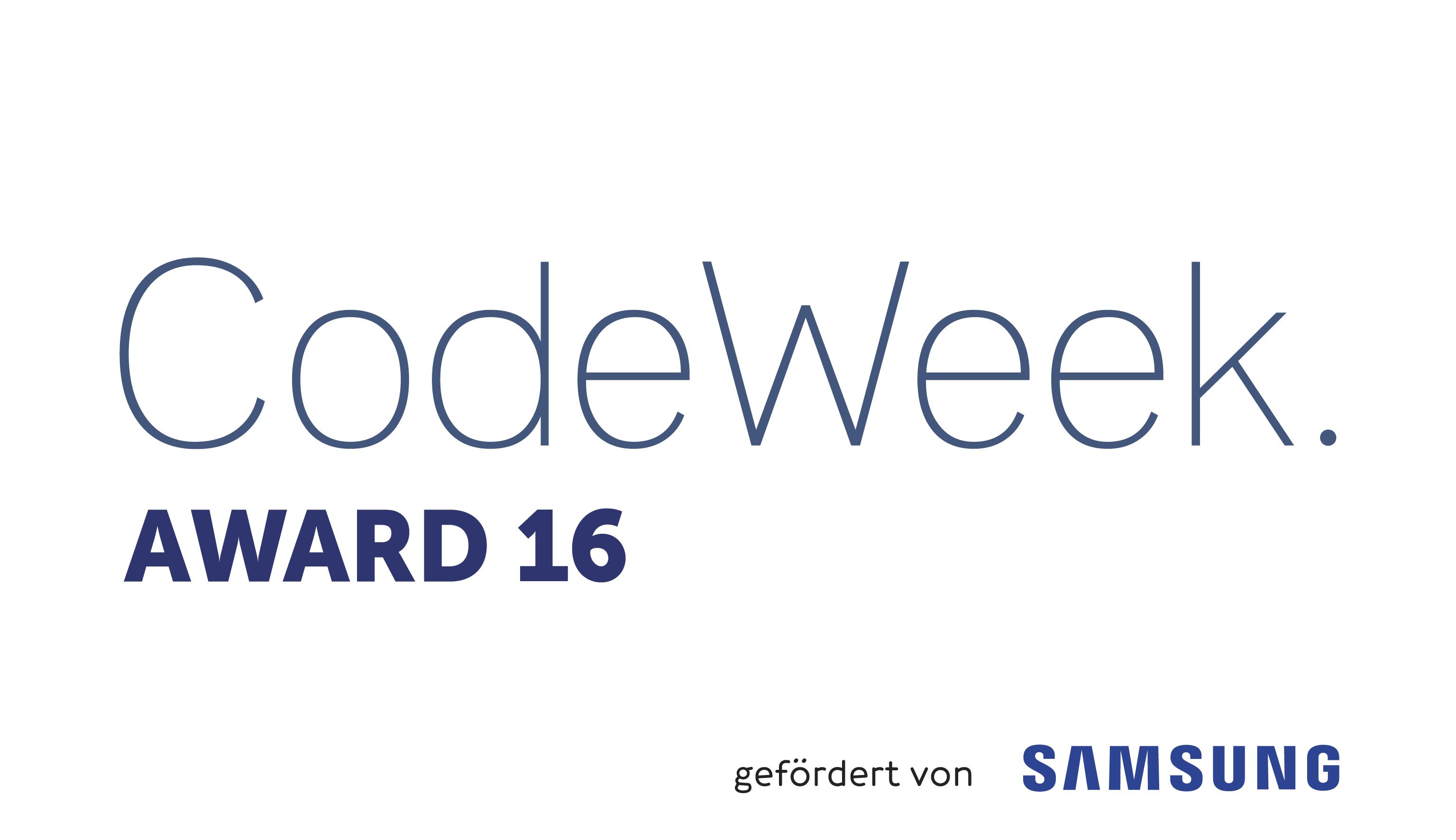 Code Week Award