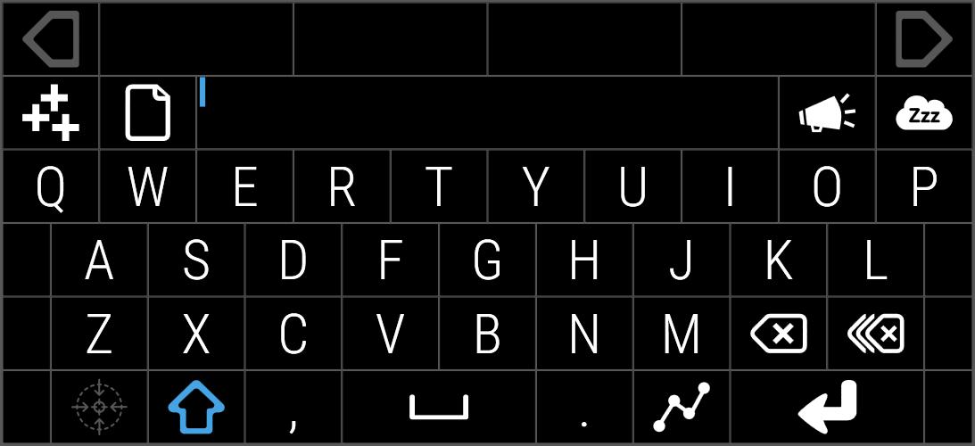 Speech only keyboard