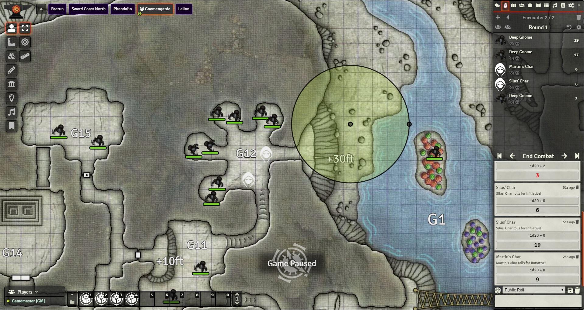 Combat Focus in action