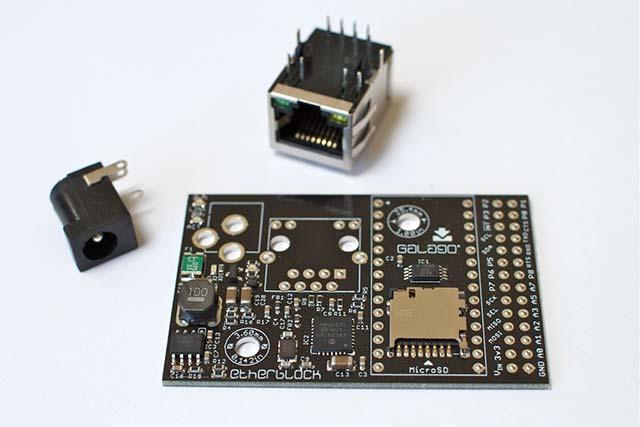 Photo of Ethernet App Board