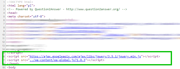 JQuery script with Google CDN