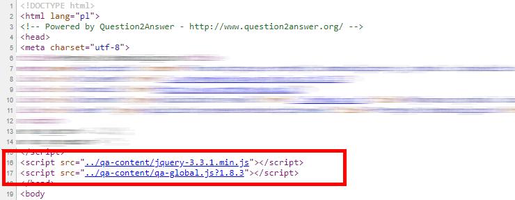 JQuery script without CDN