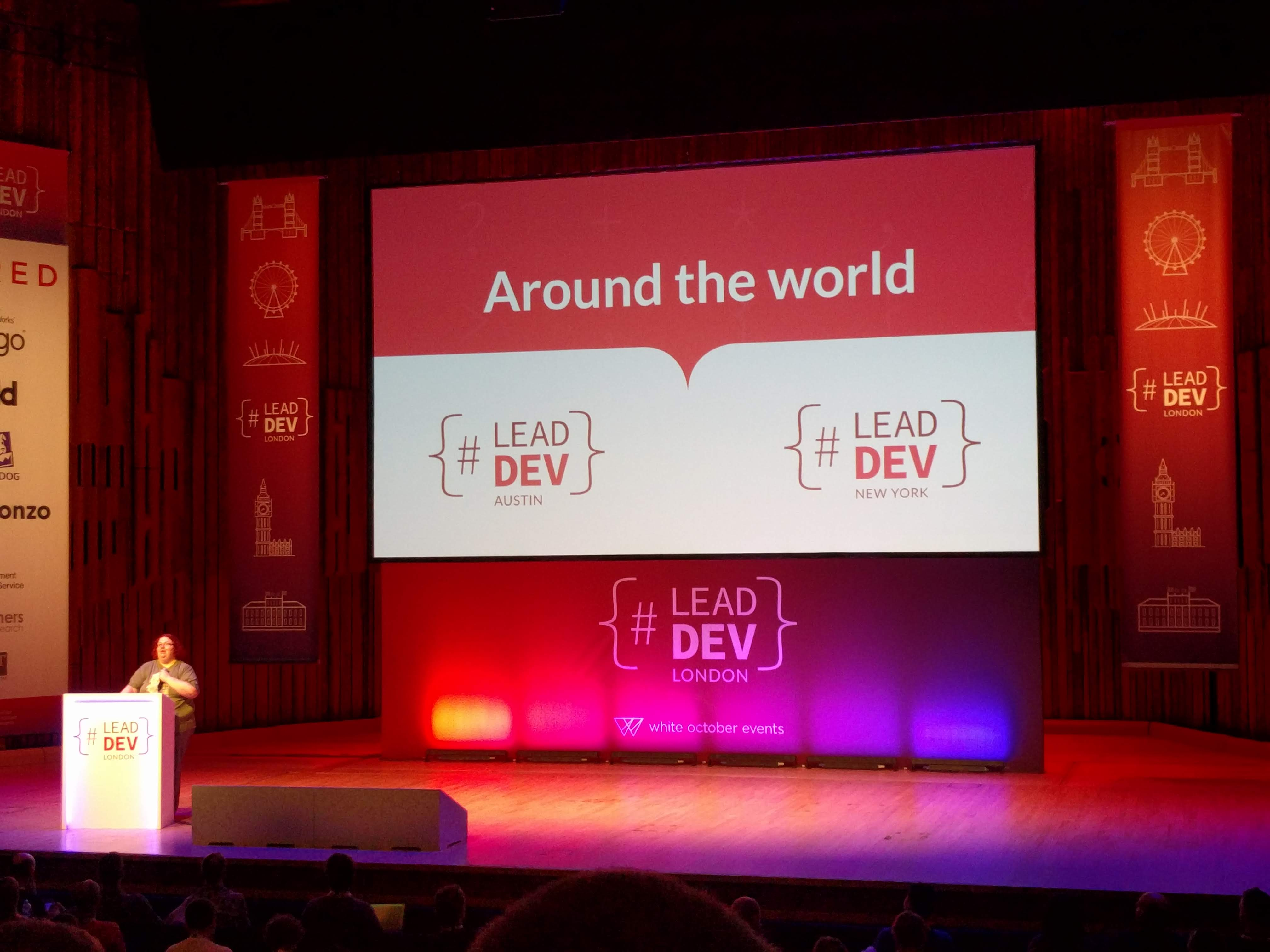 Other LeadDev Conferences