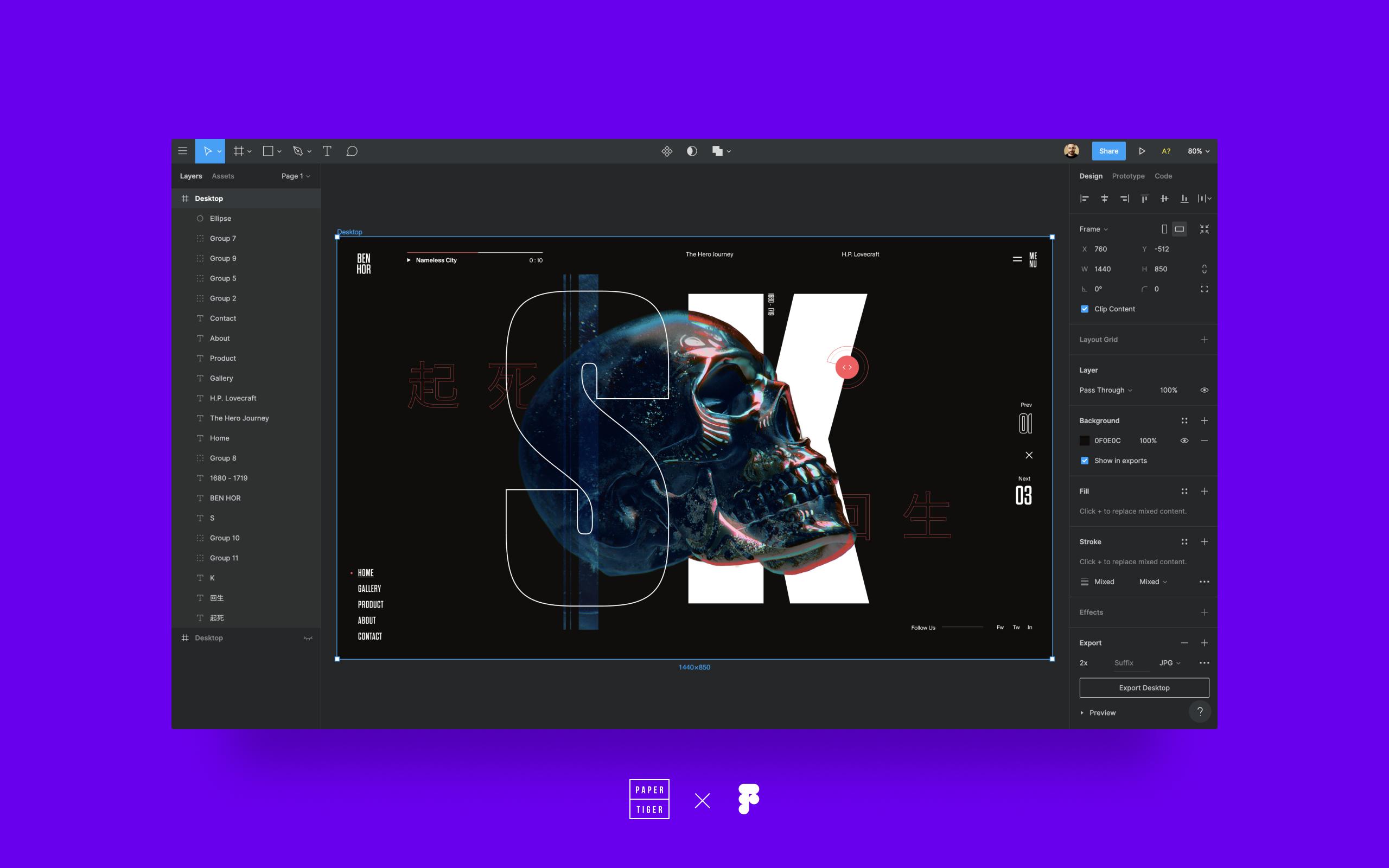 GitHub - PaperTiger/figma-dark-ui: Dark UI Mode Plugin for Figma App
