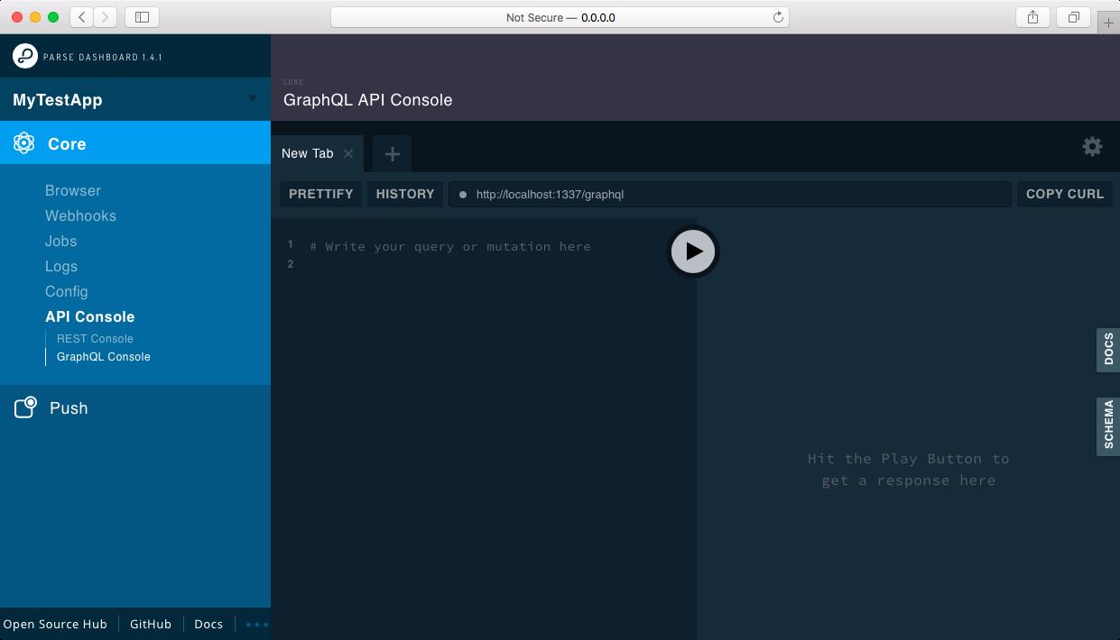 parse-dashboard - npm