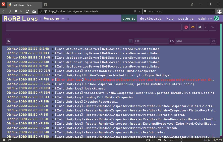 Seq.Net Theme Screenshot