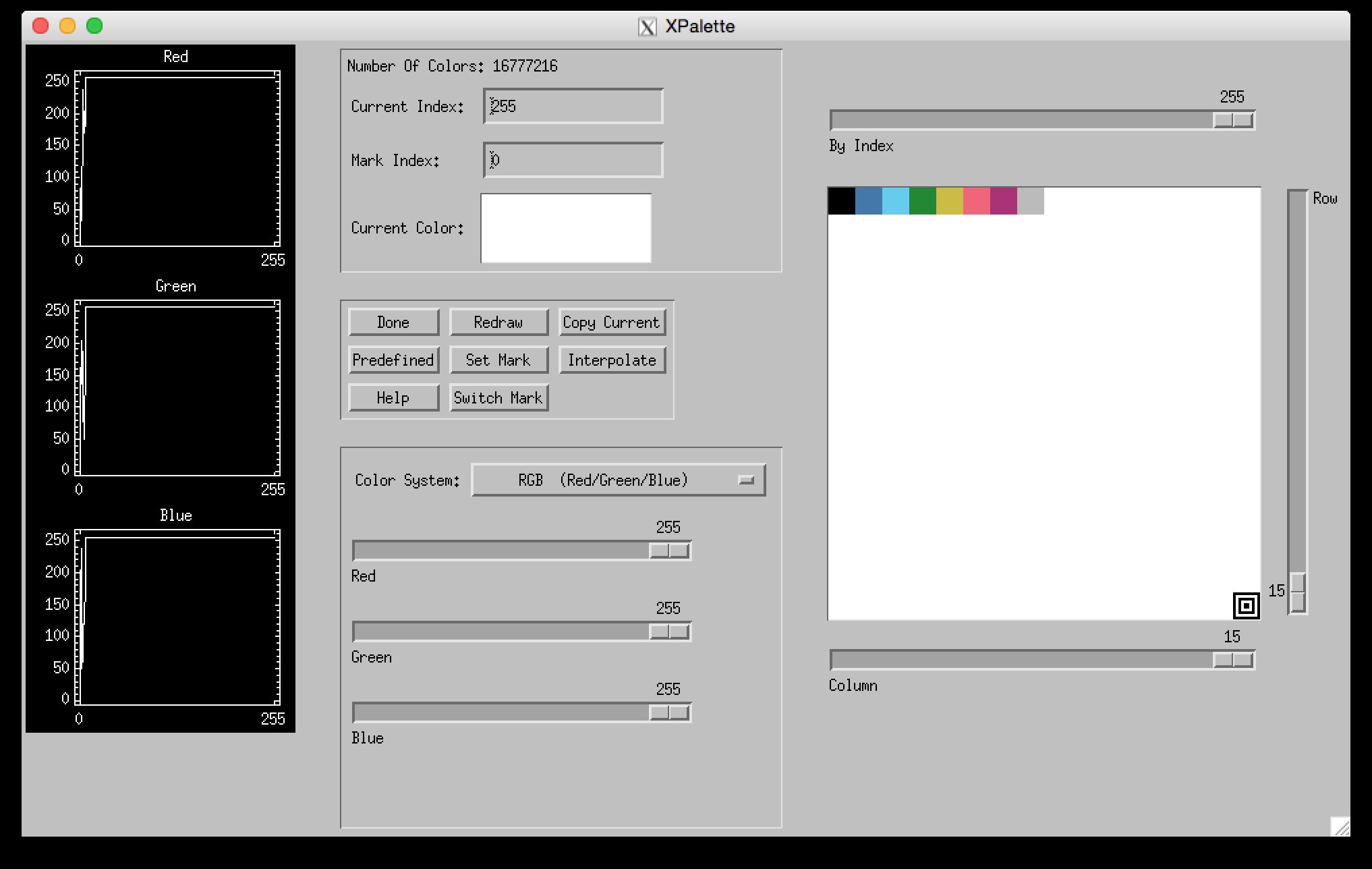 colorblind.pro xpalette