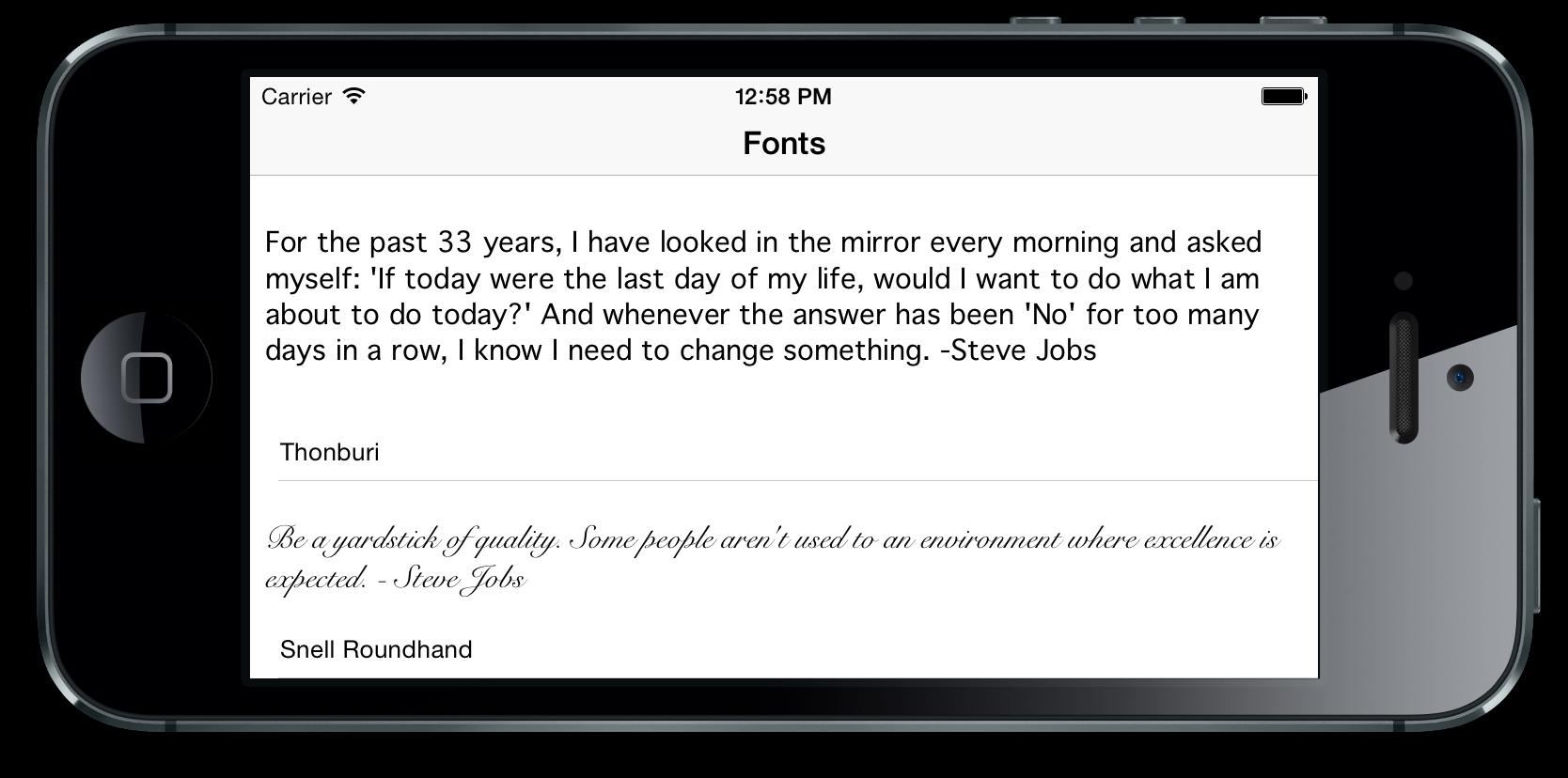GitHub - PaulSolt/AutoLayoutForUITableViewCell: iPhone