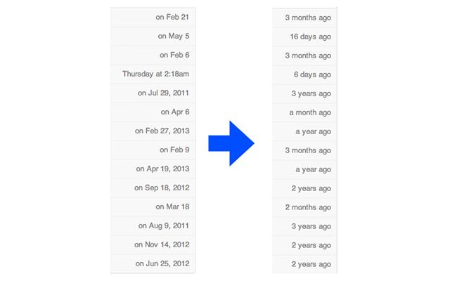 GitHub - PaulTaykalo/github-human-readable-dates-chrome