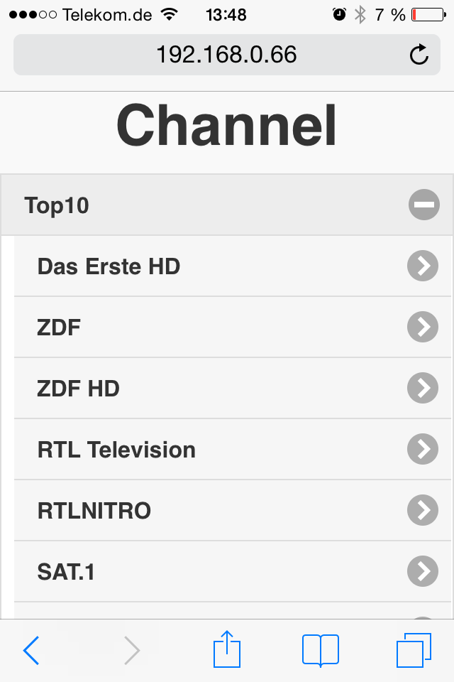 tvstreamrecord mobile channels