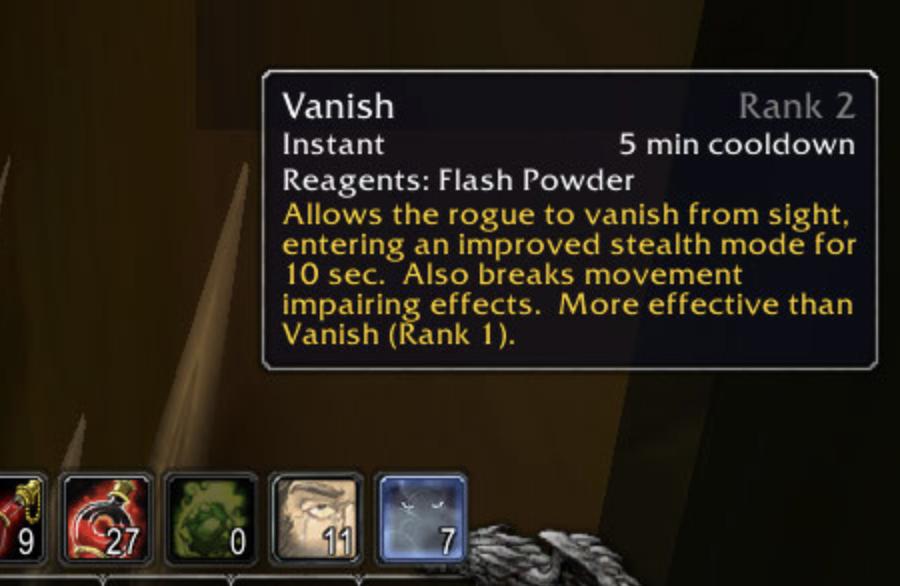 Screenshot: Rogue - Blind