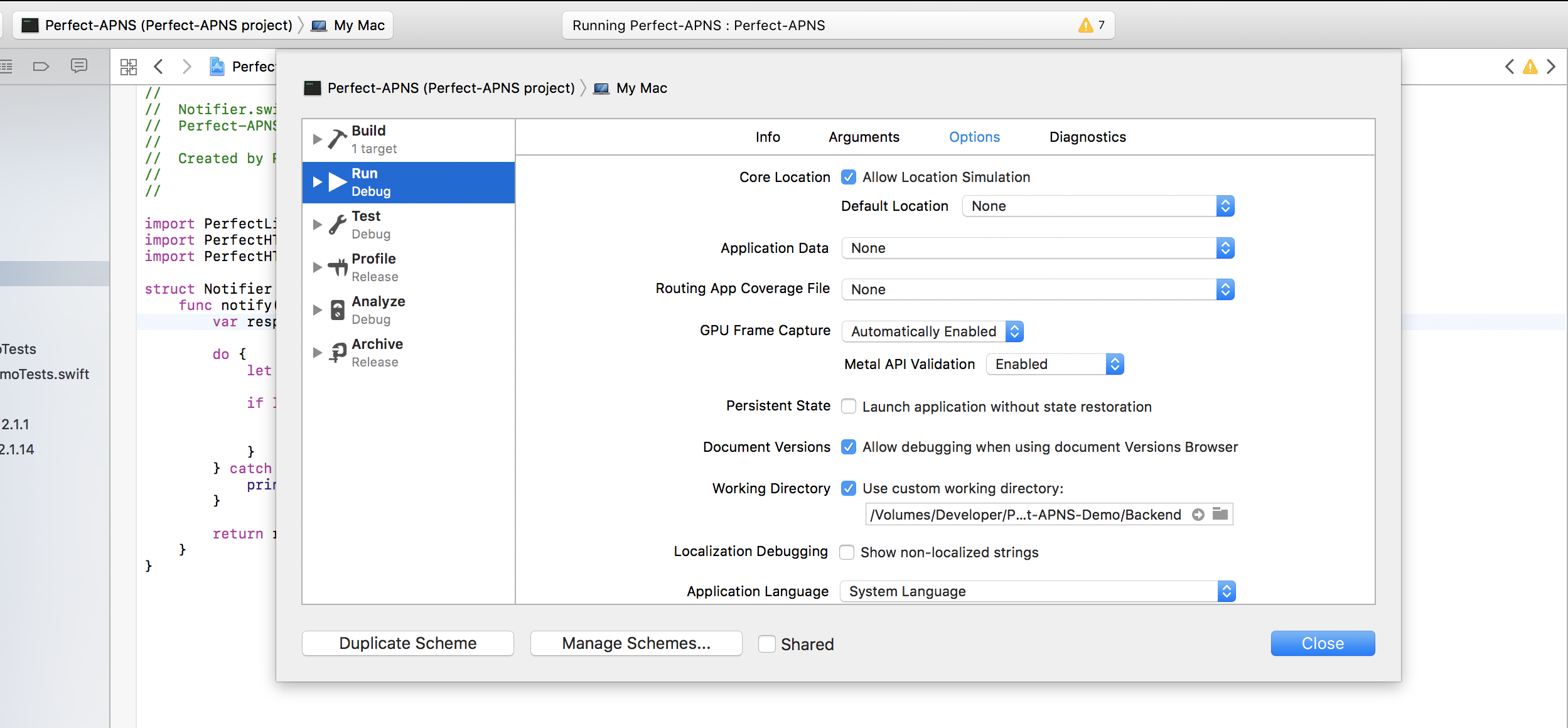 Proper Xcode Setup