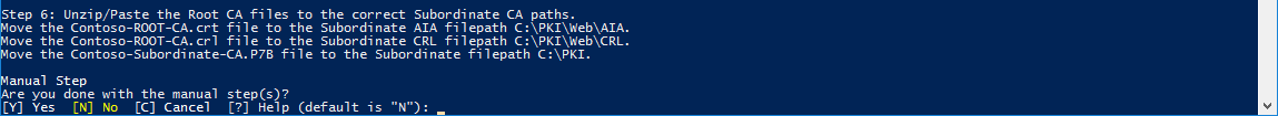Move CRL and CRT files