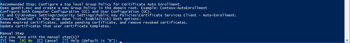 Create Group Policy