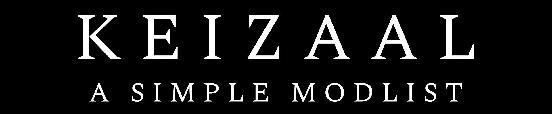 Keizaal: A Simple Modlist
