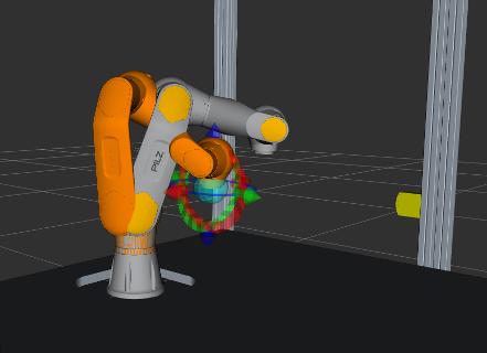 PRBT with MotionPlanningPlugin in rviz