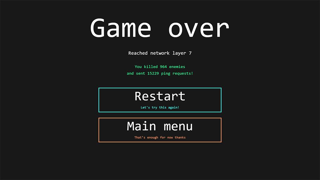 Nexus overload End screen