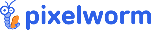 Pixelworm logo