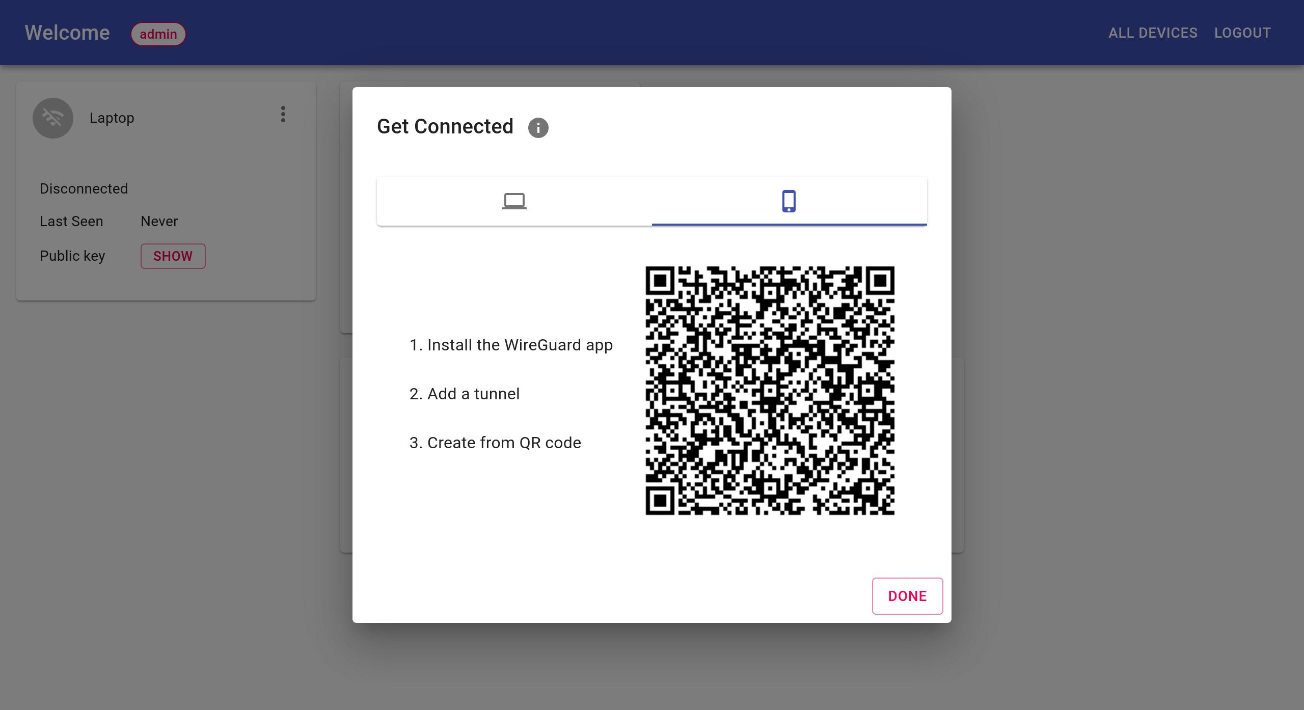 Connect iOS