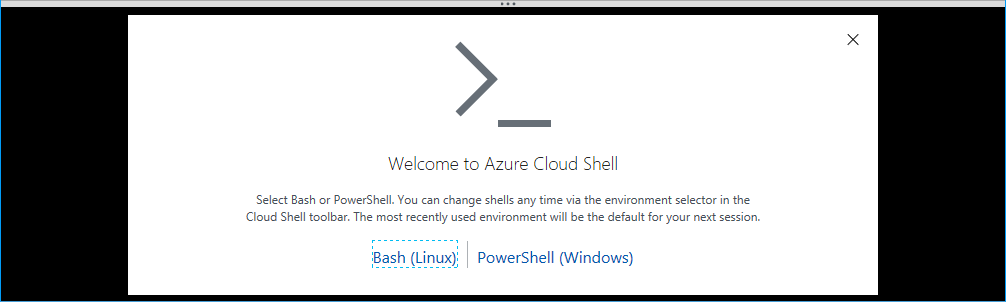 Welcome to Cloud Shell