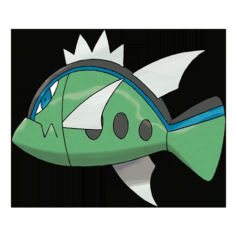 Pokémon basculin-blue-striped