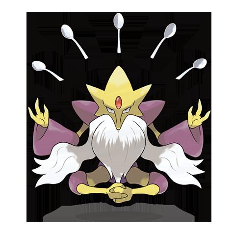 Pokémon alakazam-mega