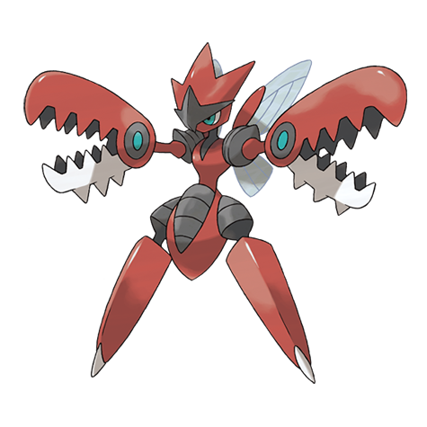 Pokémon scizor-mega