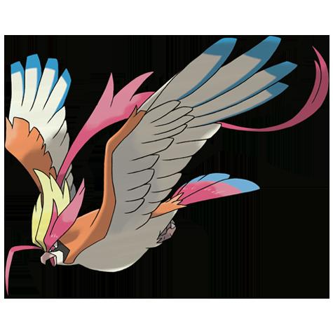 Pokémon pidgeot-mega