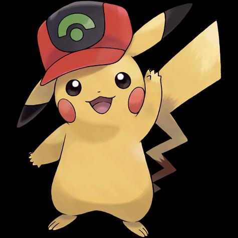 Pokémon pikachu-hoenn-cap