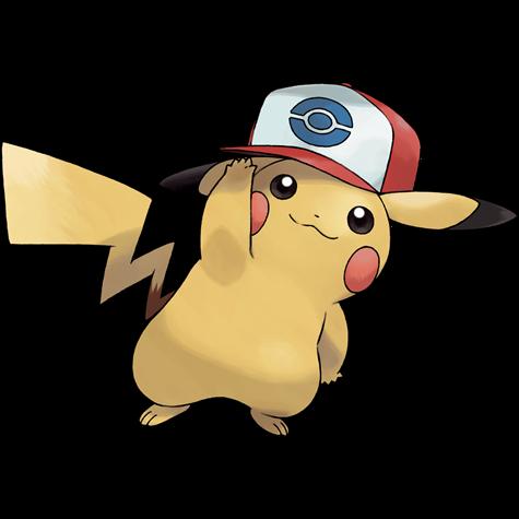 Pokémon pikachu-unova-cap
