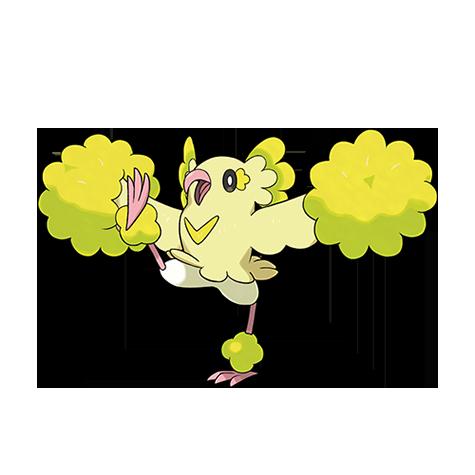 Pokémon oricorio-pom-pom