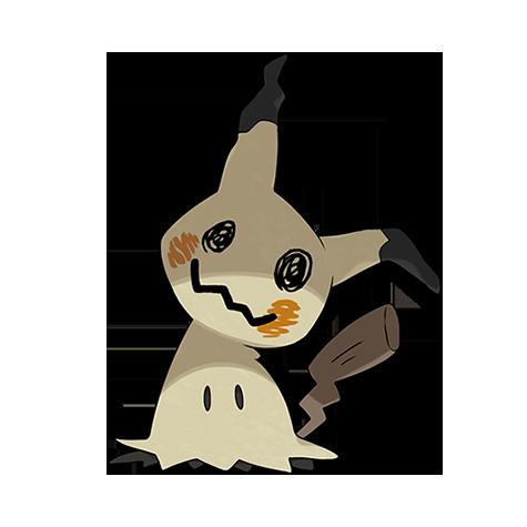 Pokémon mimikyu-totem-disguised