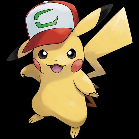 Pokémon pikachu-partner-cap