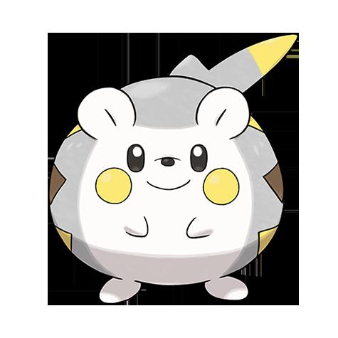 Pokémon togedemaru-totem