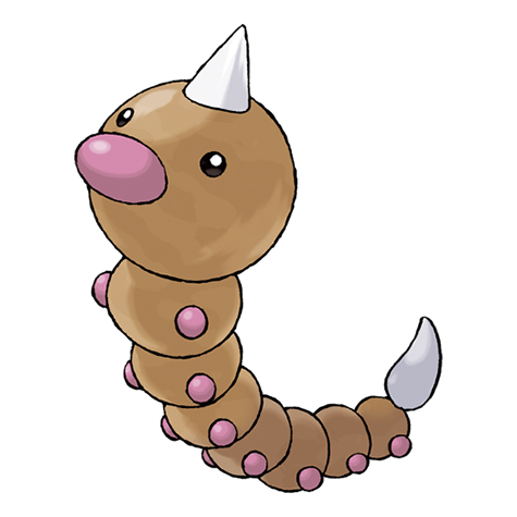 Pokémon weedle