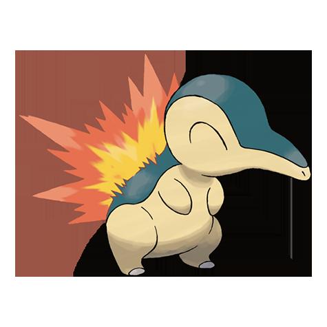 Pokémon cyndaquil