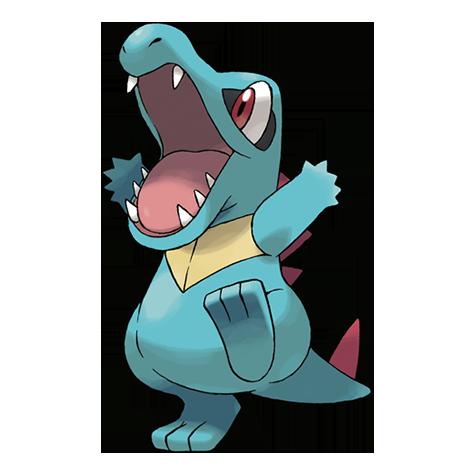 Pokémon totodile