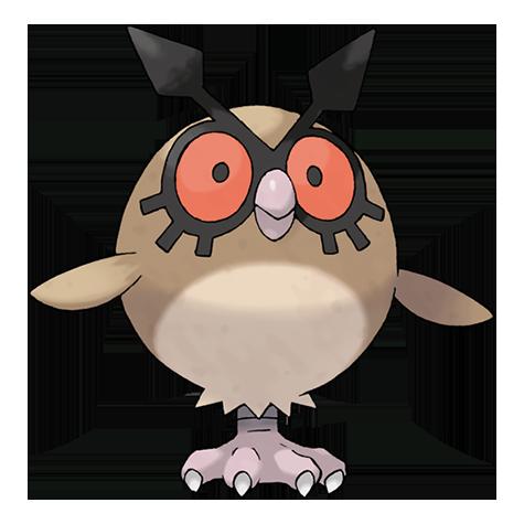Pokémon hoothoot