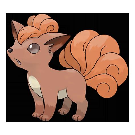 Pokémon vulpix