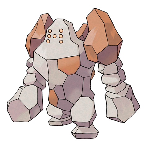 Pokémon regirock
