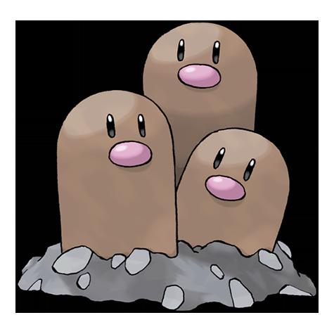 Pokémon dugtrio