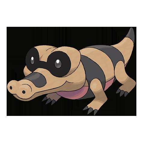 Pokémon sandile