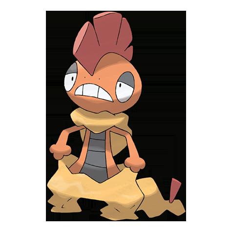 Pokémon scrafty