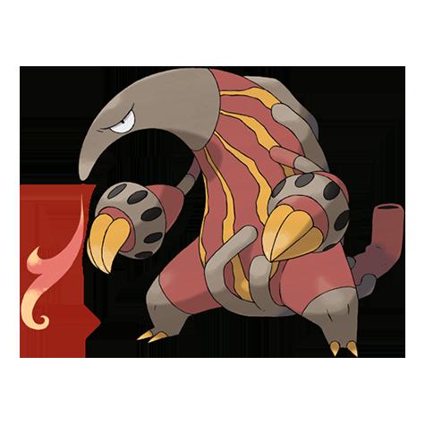 Pokémon heatmor