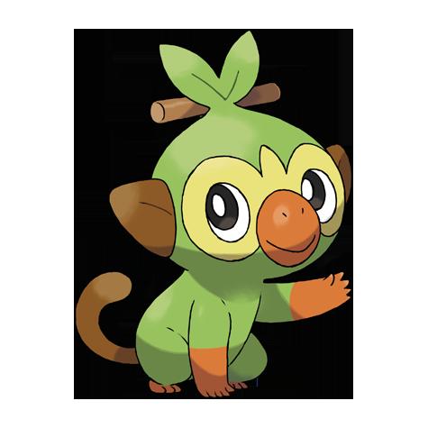 Pokémon grookey
