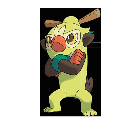 Pokémon thwackey
