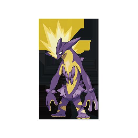 Pokémon toxtricity-amped