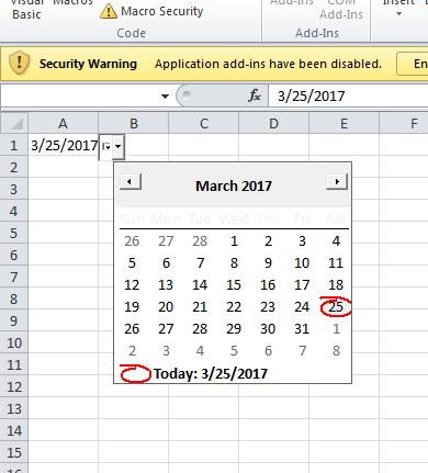 Pick Date
