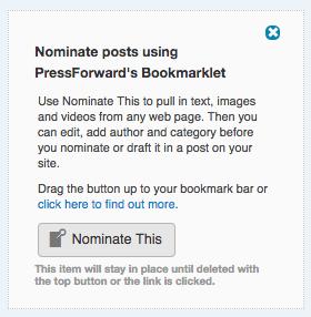 PressForward Installer All Content