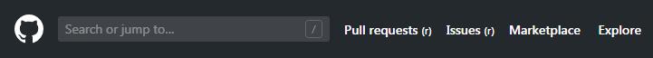 GitHub tabs
